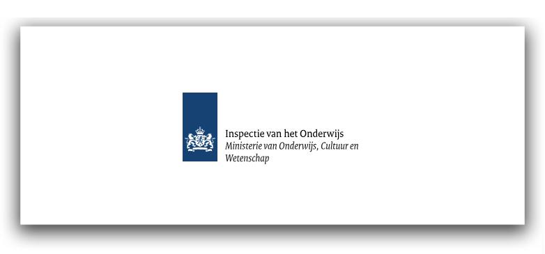 Logo van de onderwijsinspectie Nederland